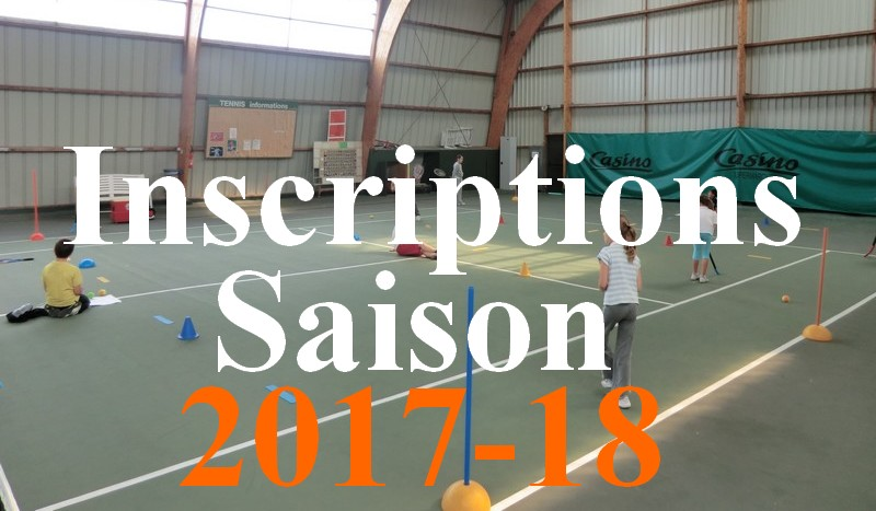 inscriptions tennis quiberon 2017-18