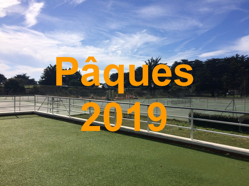 paques 2019 tennis quiberon
