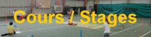 activité cours et stages de tennis