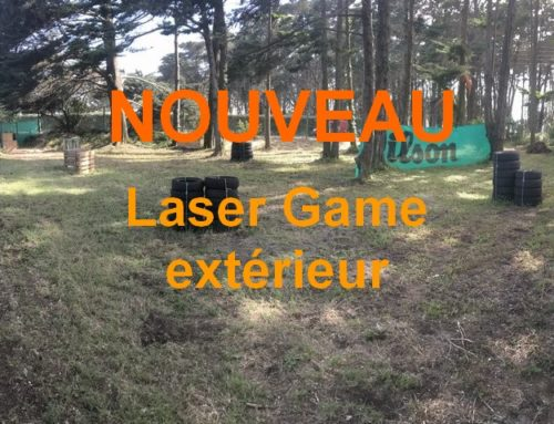 Nouveauté : laser game extérieur !