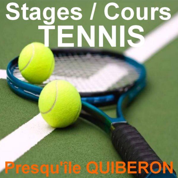 cours / stages de tennis Quiberon