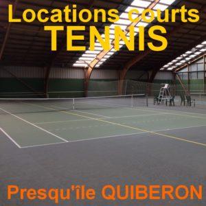 location court de tennis quiberon
