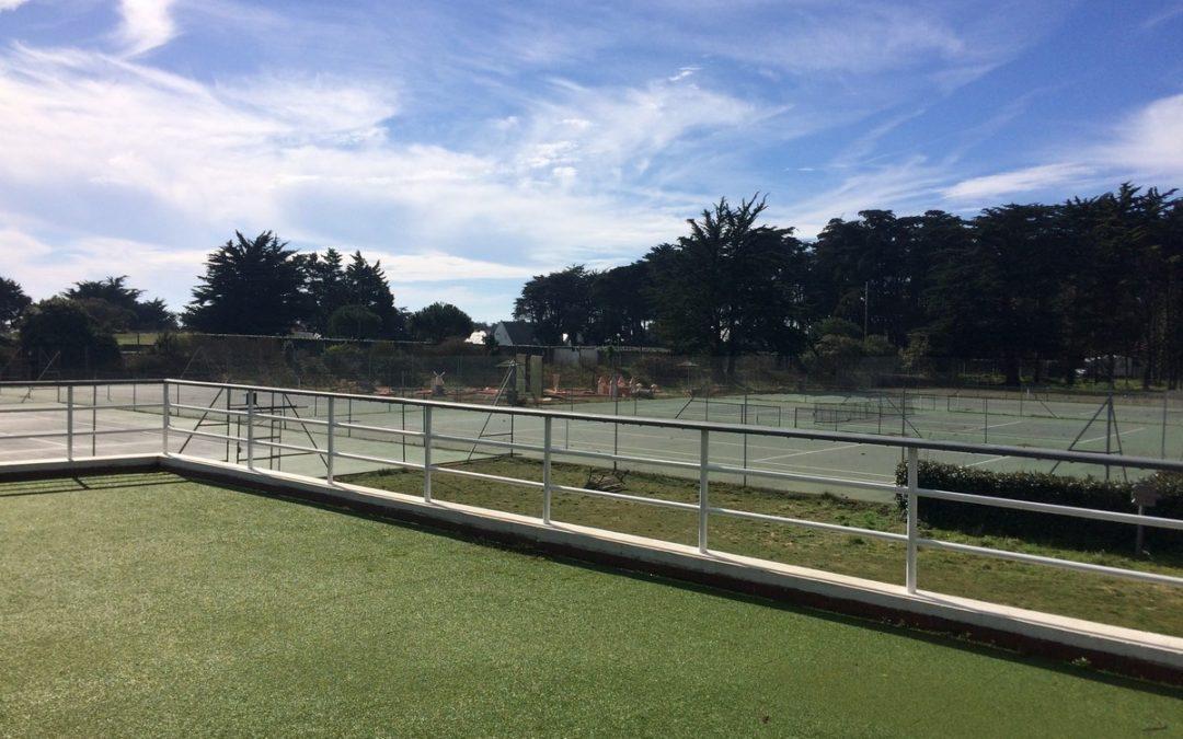 réouverture tennis quiberon bois d'amour